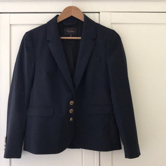 Madewell Jackets & Blazers - Madewell Buckley Tailors Navy wool Boy Blazer, s4